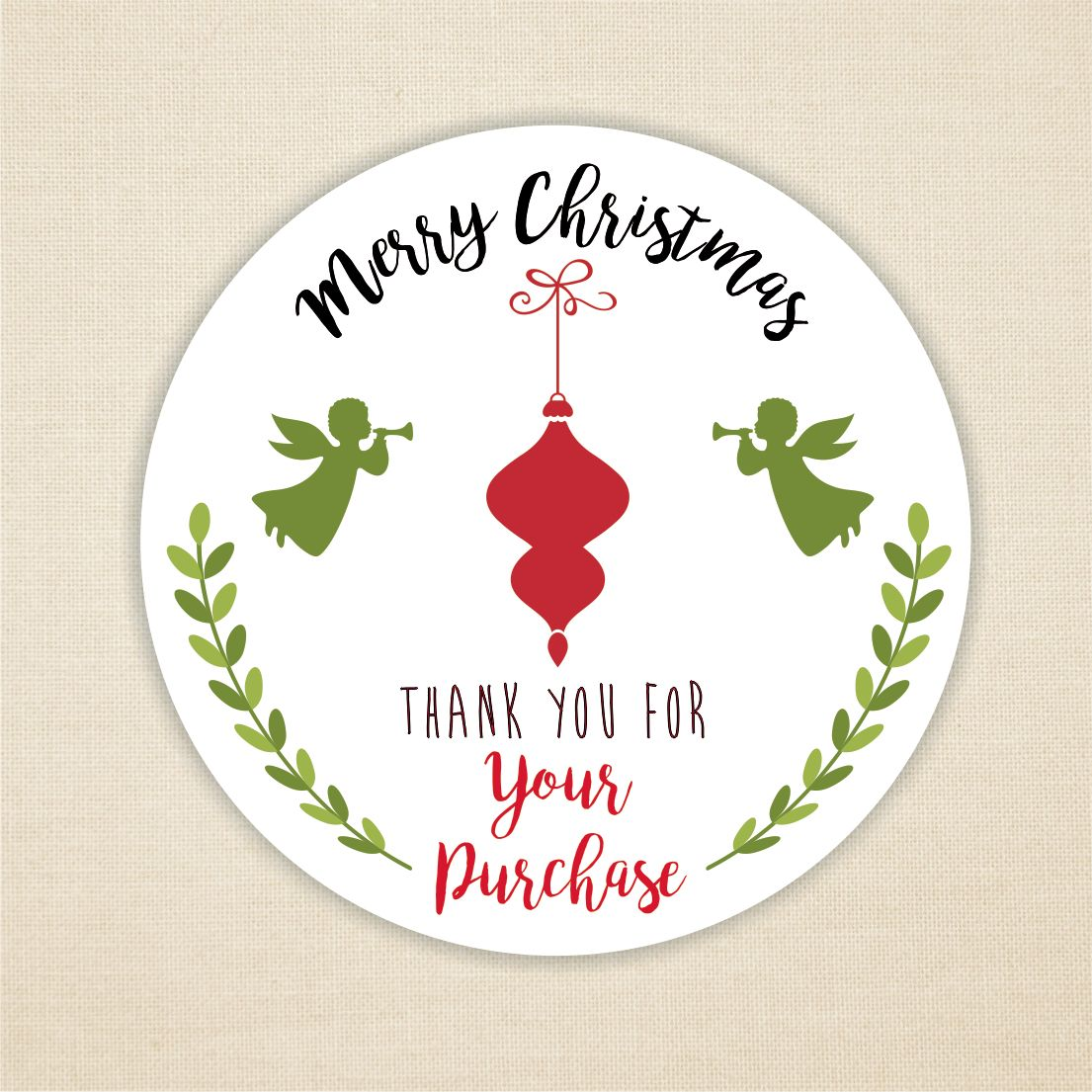 112 Christmas Stickers Merry Christmas Seasons Greetings