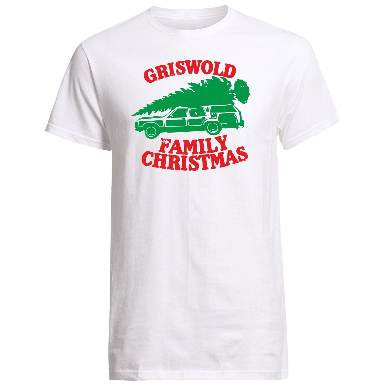 griswold family christmas t shirt and free sticker
