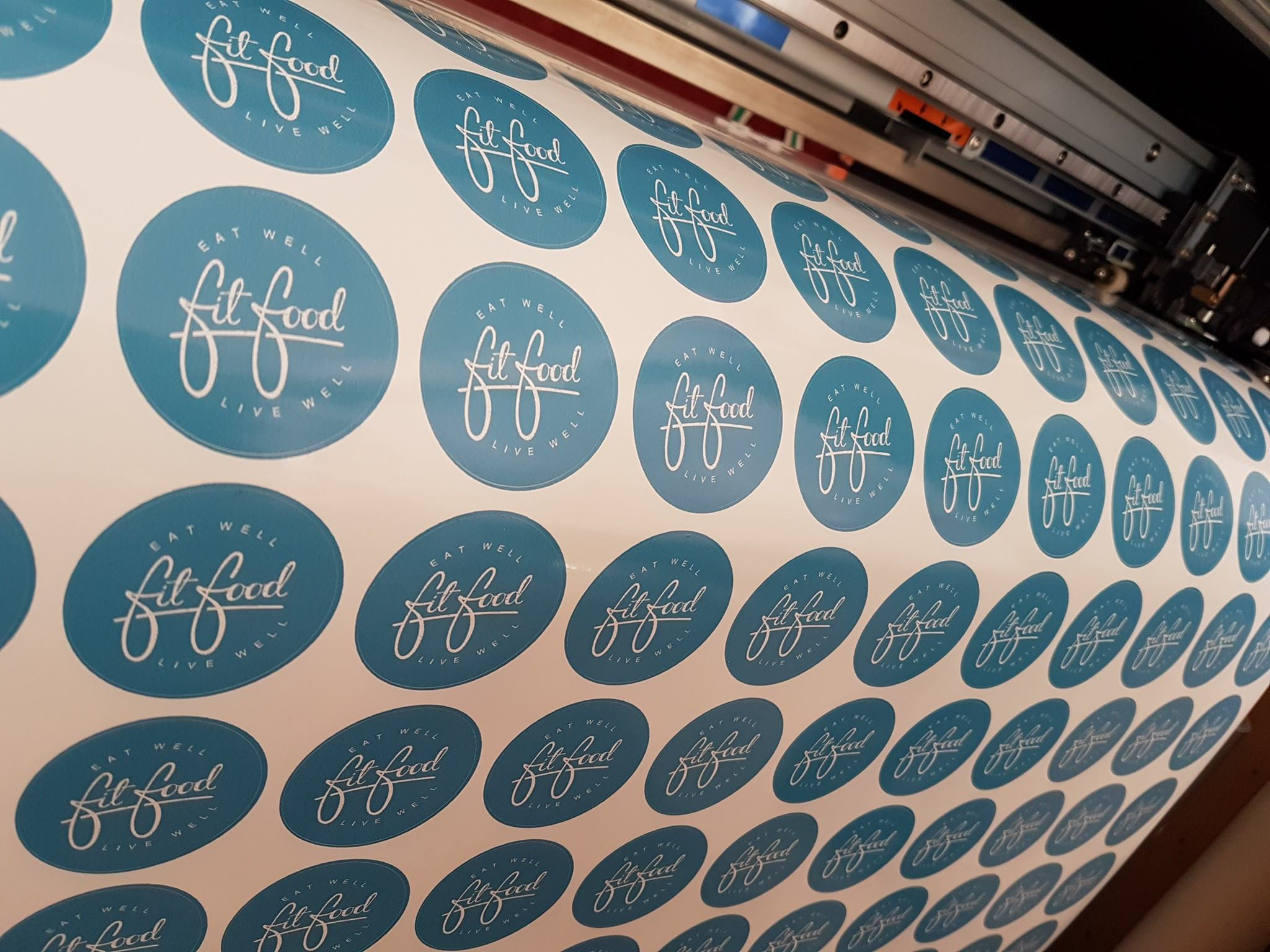 Two metres of vinyl stickers for the price one one