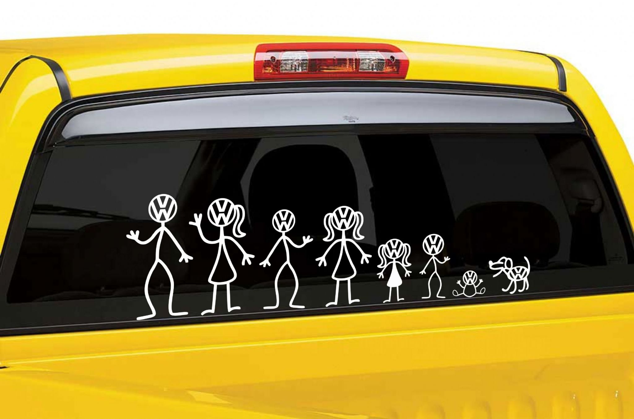 Vw stick man sticker decal selection build your own family 5053 p jpg